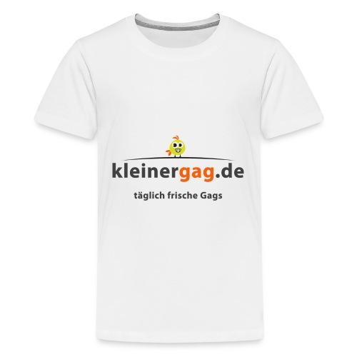 logotransp png - Teenager Premium T-Shirt