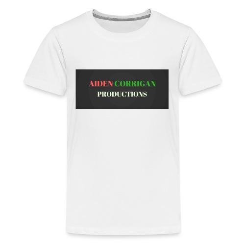 AIDEN_CORRIGAN_PRODUCTIONS - Teenage Premium T-Shirt