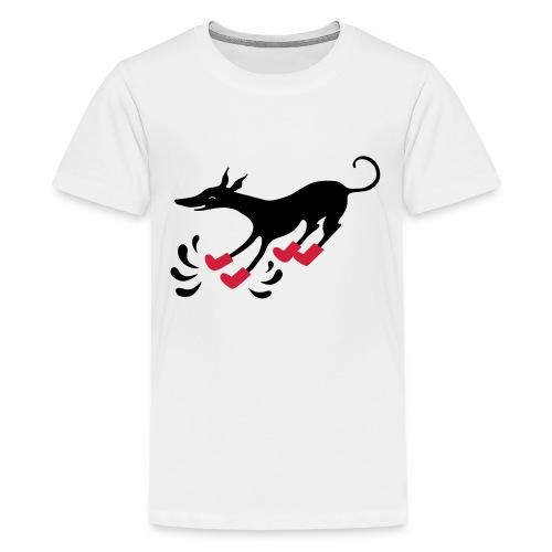 Latakko Loiskis - Teinien premium t-paita