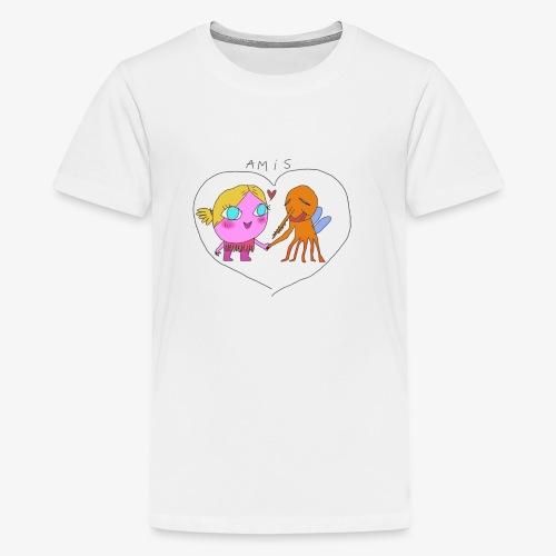 les meilleurs amis - T-shirt Premium Ado