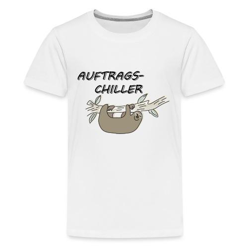 Faultier Auftragschiller - Teenager Premium T-Shirt