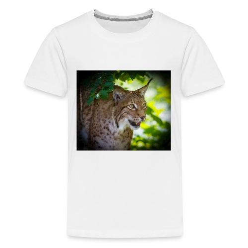 Luchs - Teenager Premium T-Shirt