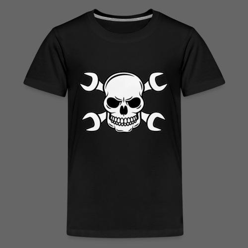 MEKKER SKULL - Teenager premium T-shirt