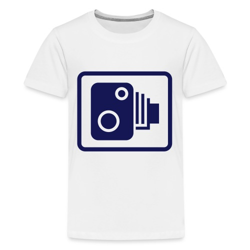 camera03 - Teenager Premium T-Shirt