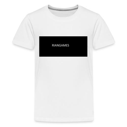 rianGames merch - Teenage Premium T-Shirt