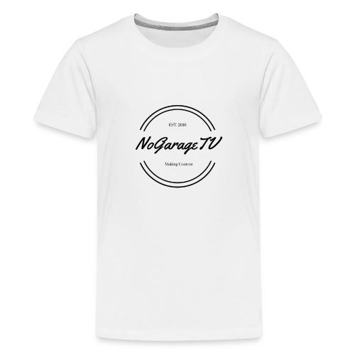 NoGarageTV (3) - Teenager premium T-shirt