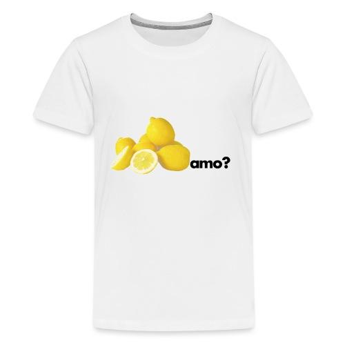 limoni_amo - Maglietta Premium per ragazzi