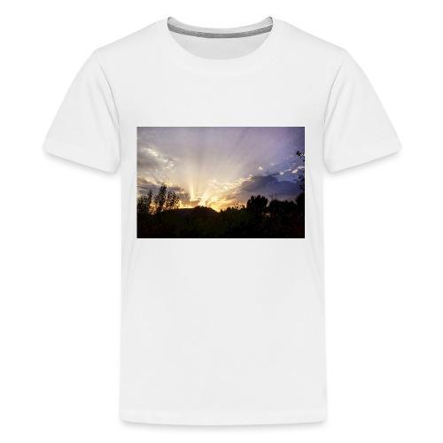 Sunset Ray 2 - T-shirt Premium Ado