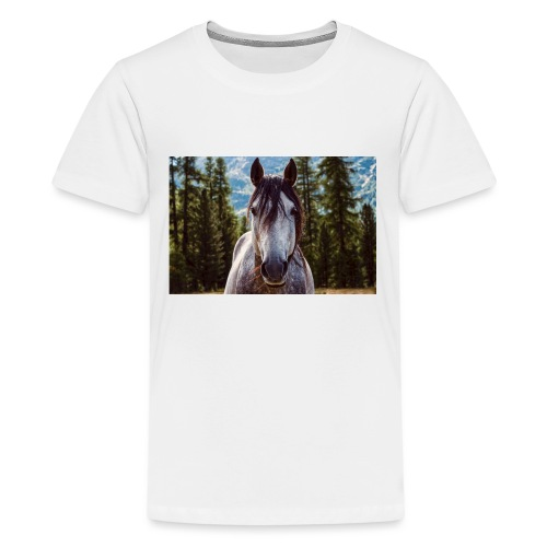 Nature Horse by #CreativeArts - Teenager Premium T-Shirt