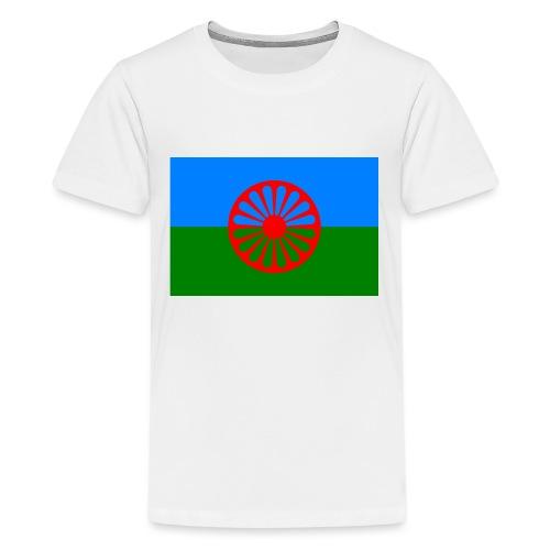 Flag of the Romani people - Premium-T-shirt tonåring