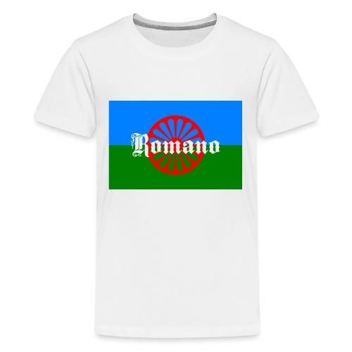 Flag of the Romanilenny people svg - Premium-T-shirt tonåring