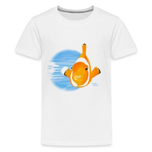 Poisson clown - T-shirt Premium Ado