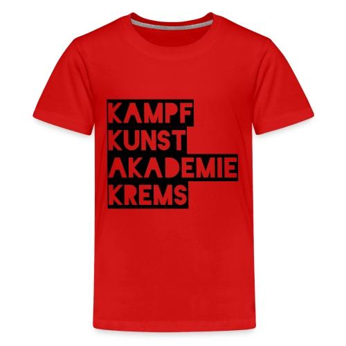 KKA 2016 lifestyle back2 - Teenager Premium T-Shirt