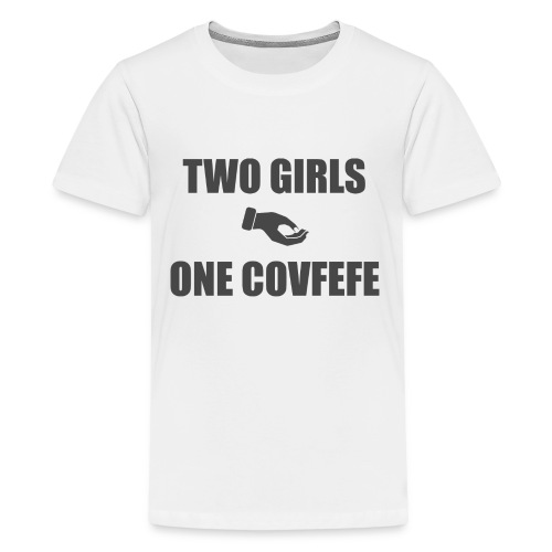 What the covfefe? - Teenage Premium T-Shirt