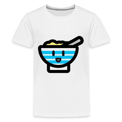 Cute Breakfast Bowl - Teenage Premium T-Shirt