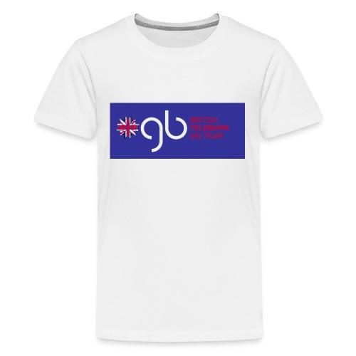 improved gb tele team - Teenage Premium T-Shirt