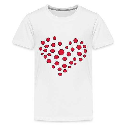 Polka - Teenager premium T-shirt