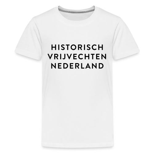 HVN_tekst - Teenager Premium T-shirt