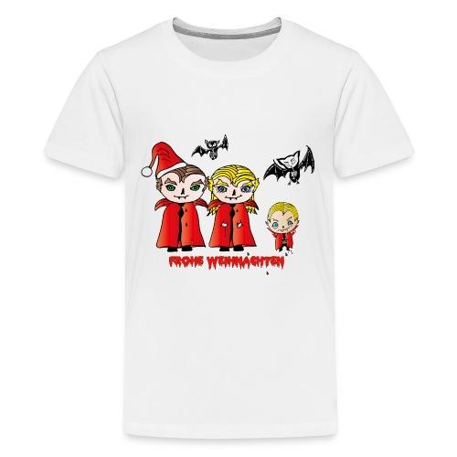 Frohe Weihnachten - Teenager Premium T-Shirt