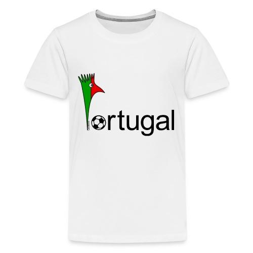 Galoloco Portugal 1 - Teenage Premium T-Shirt