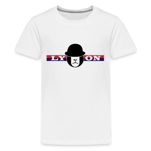 Motif Lyon + logo - T-shirt Premium Ado