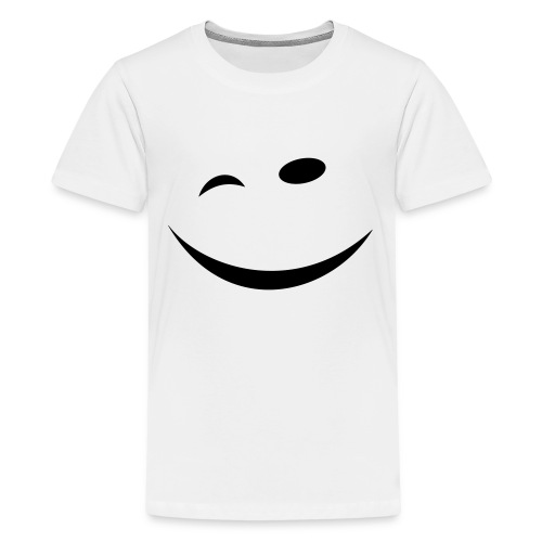 Zwinkersmiley - Teenager Premium T-Shirt