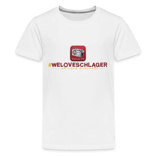 WeLoveSchlager de - Teenager Premium T-Shirt