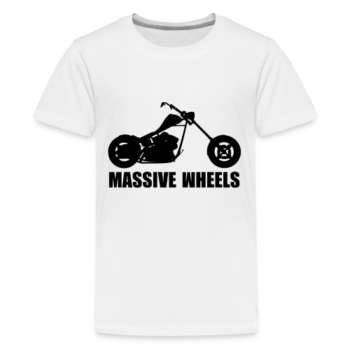 MW shirt 4 png - Teenager Premium T-Shirt