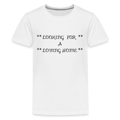 Loving home - Teinien premium t-paita