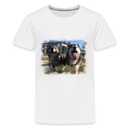 Voll toll - Teenager Premium T-Shirt