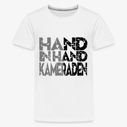 Hand In Hand - Teenager Premium T-shirt