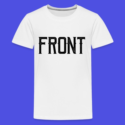 Front tshirt - Teenager Premium T-shirt