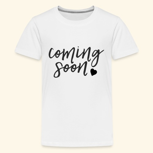Baby Coming Soon - Baby Loading - Teenager Premium T-Shirt