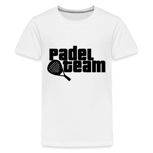 Padel team - Camiseta premium adolescente