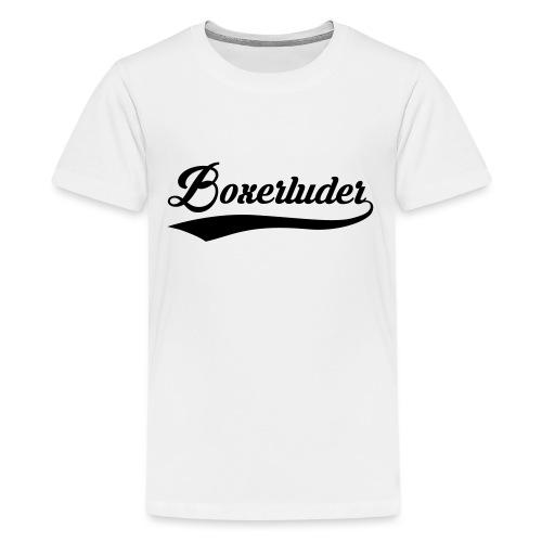 Motorrad Fahrer Shirt Boxerluder - Teenager Premium T-Shirt