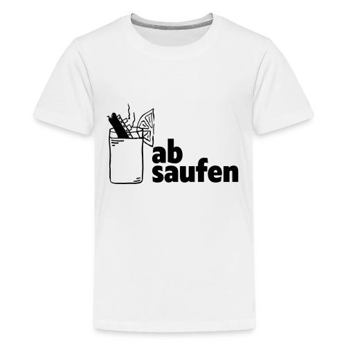 absaufen - Teenager Premium T-Shirt