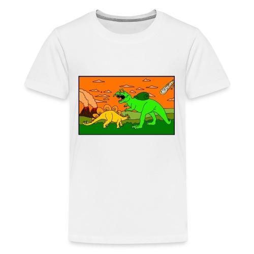 Schneckosaurier von dodocomics - Teenager Premium T-Shirt