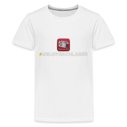 WeLoveSchlager 1 - Teenager Premium T-Shirt