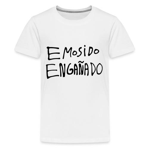 Emosido Engañado - Camiseta premium adolescente