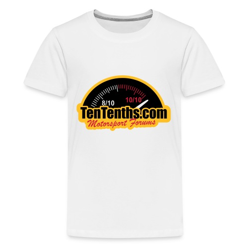3Colour_Logo - Teenage Premium T-Shirt