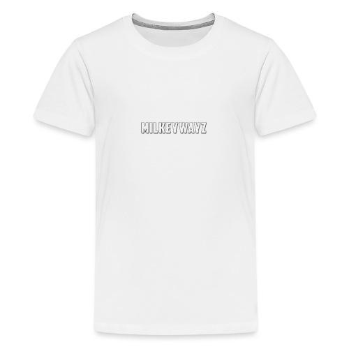 Milkeywayz Logo - Teenage Premium T-Shirt