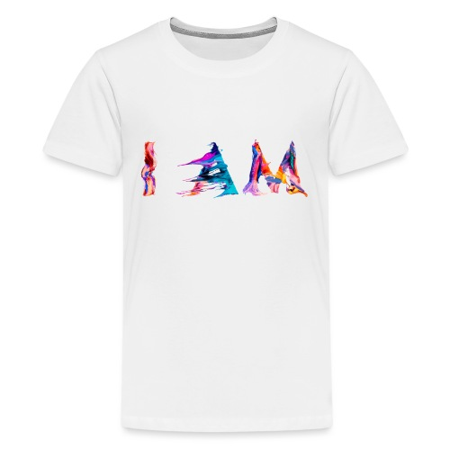 I AM - T-shirt Premium Ado