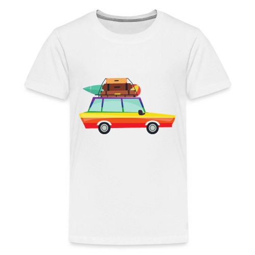 Gay Van | LGBT | Pride - Teenager Premium T-Shirt