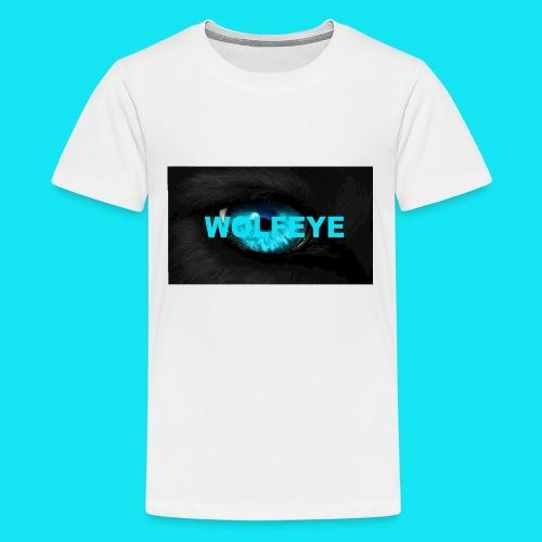 WolfEye T-Shirt - Teenage Premium T-Shirt