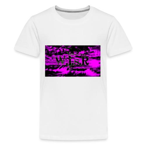 wisr valuva taivas Naisten-T Paita - Teinien premium t-paita