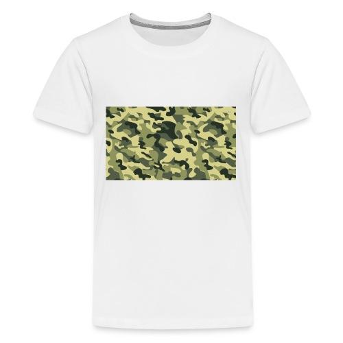 camouflage slippers - Teenager Premium T-shirt