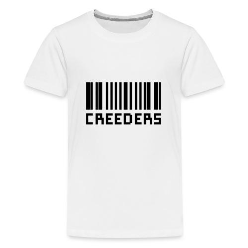 Creeders code barre - T-shirt Premium Ado