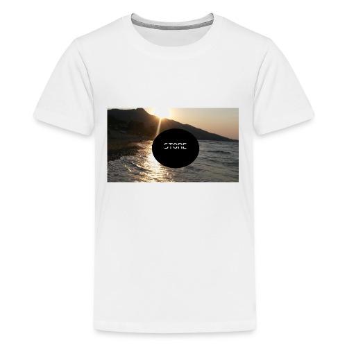 Überzug für Polster - Teenager Premium T-Shirt