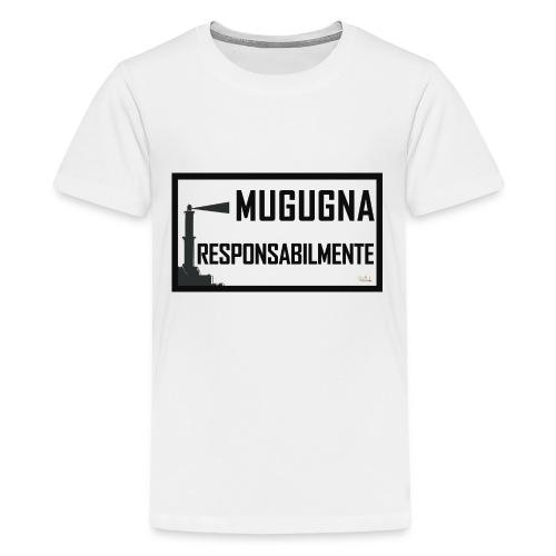 Tappetino Mouse Mugugna Responsabilmente - Maglietta Premium per ragazzi