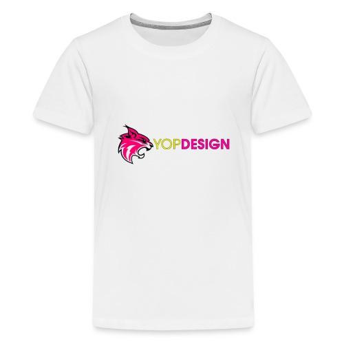 YopDesign-Ytub - T-shirt Premium Ado